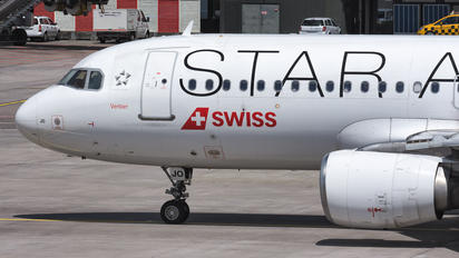 HB-IJO - Swiss Airbus A320