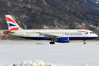 G-EUUY - British Airways Airbus A320