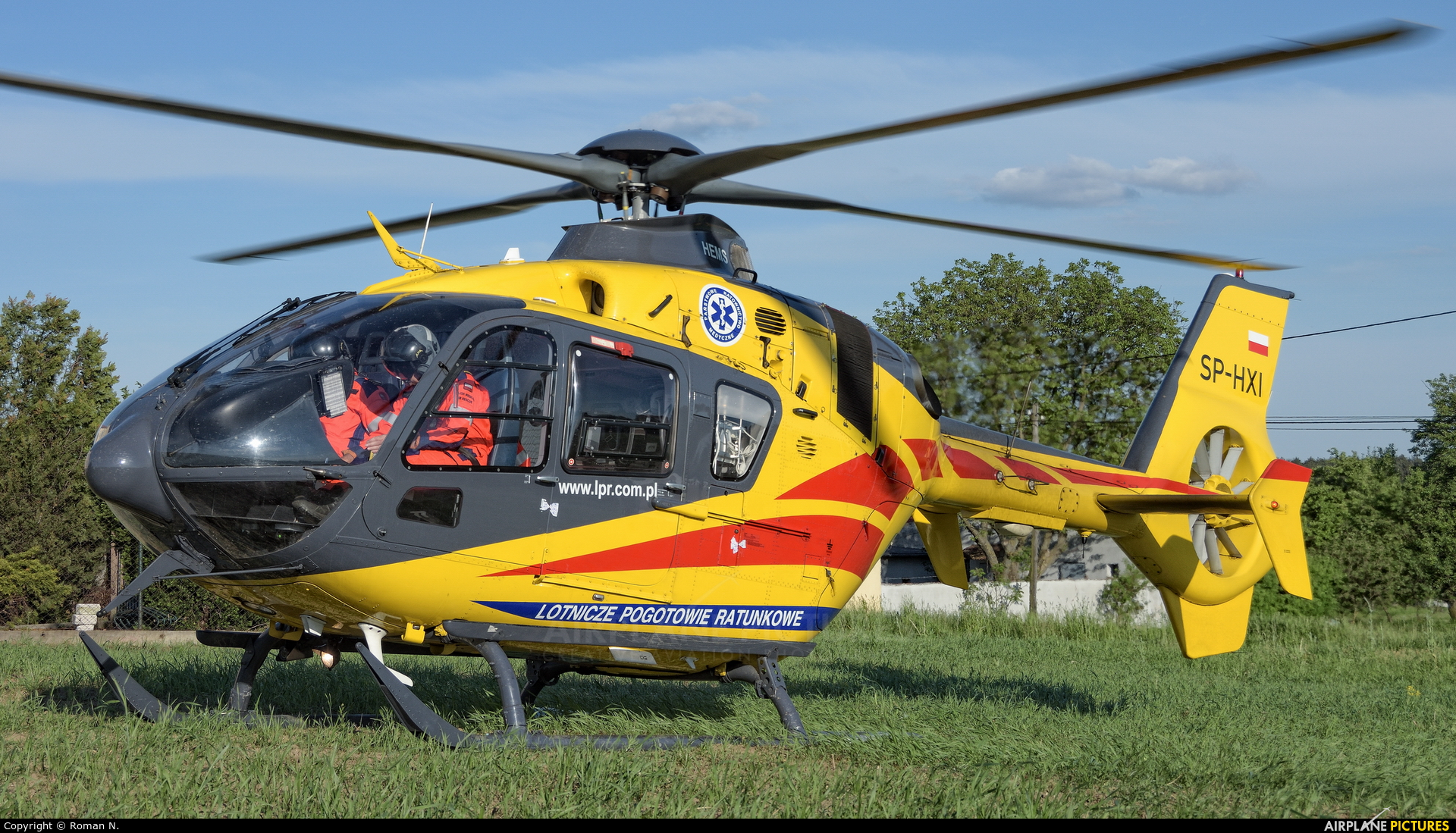 Polish Medical Air Rescue - Lotnicze Pogotowie Ratunkowe SP-HXI aircraft at Off Airport - Poland