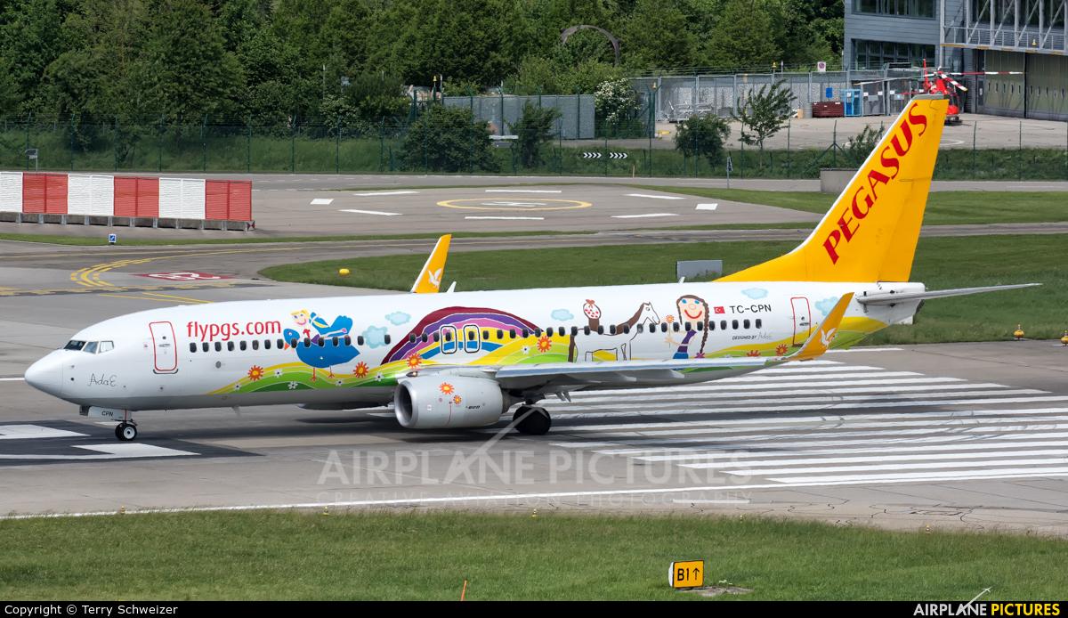 Pegasus TC-CPN aircraft at Zurich