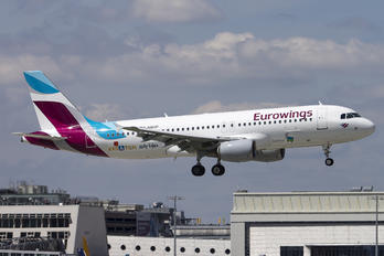 D-ABDP - Eurowings Europe Airbus A320