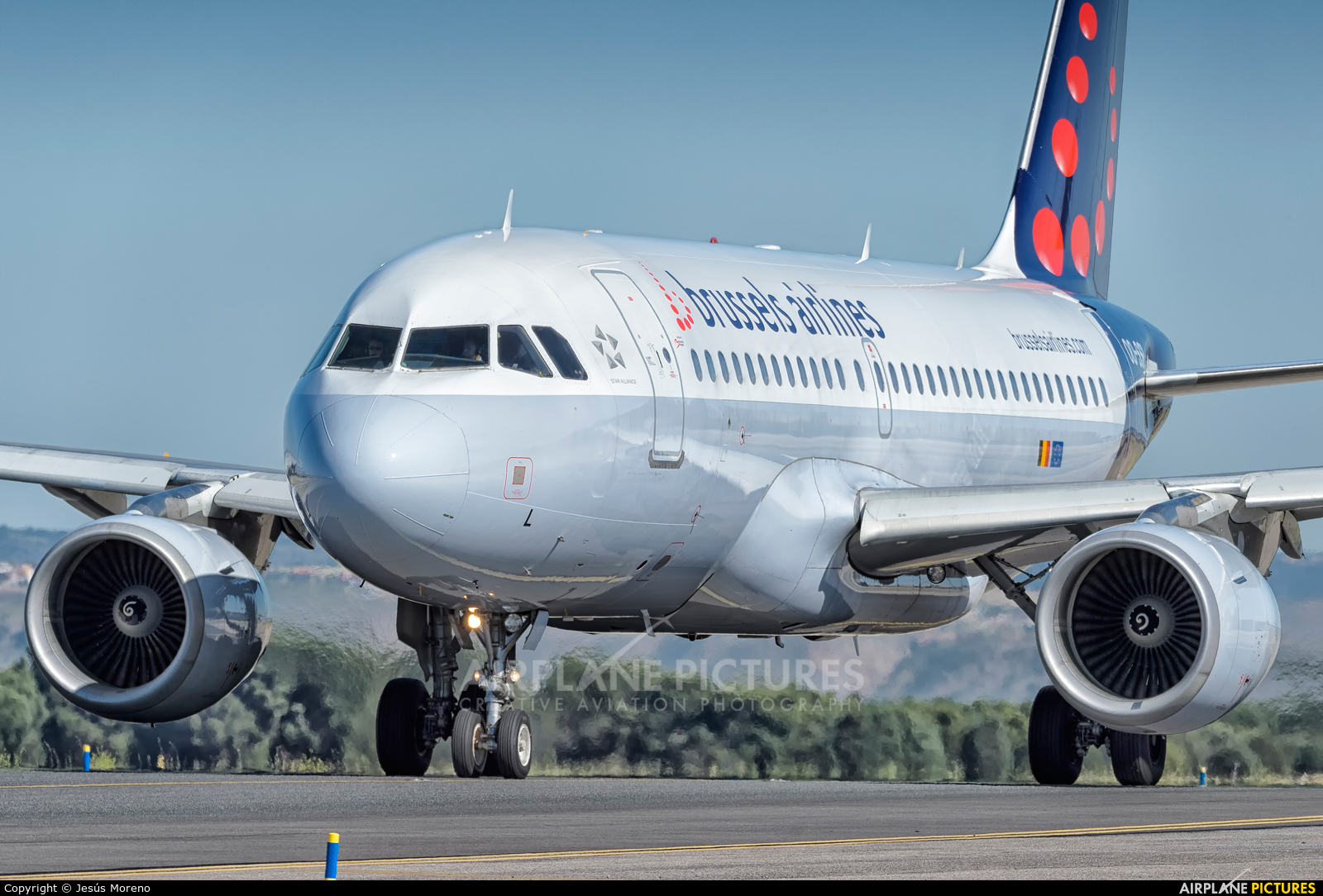 Brussels Airlines OO-SSL aircraft at Madrid - Barajas