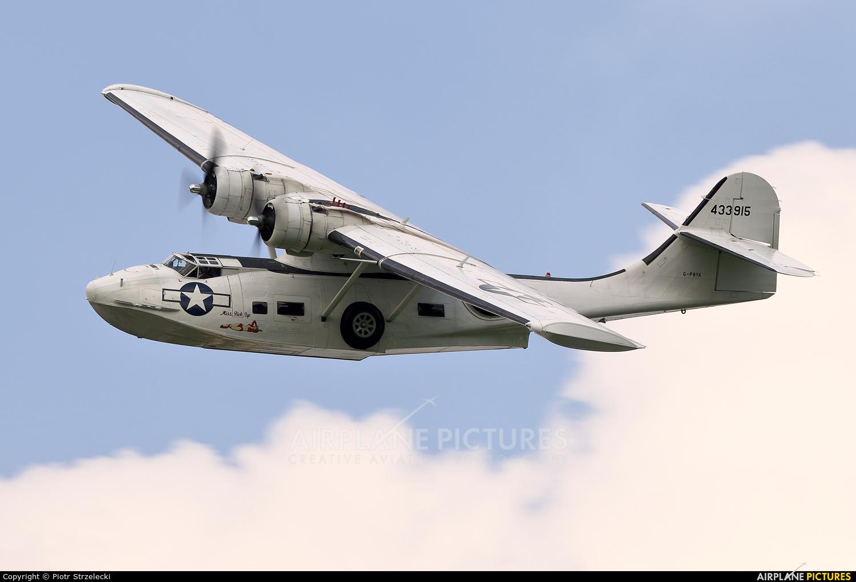 Catalina Aircraft G-PBYA aircraft at Pardubice