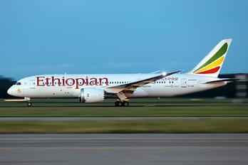 ET-ATK - Ethiopian Airlines Boeing 787-8 Dreamliner
