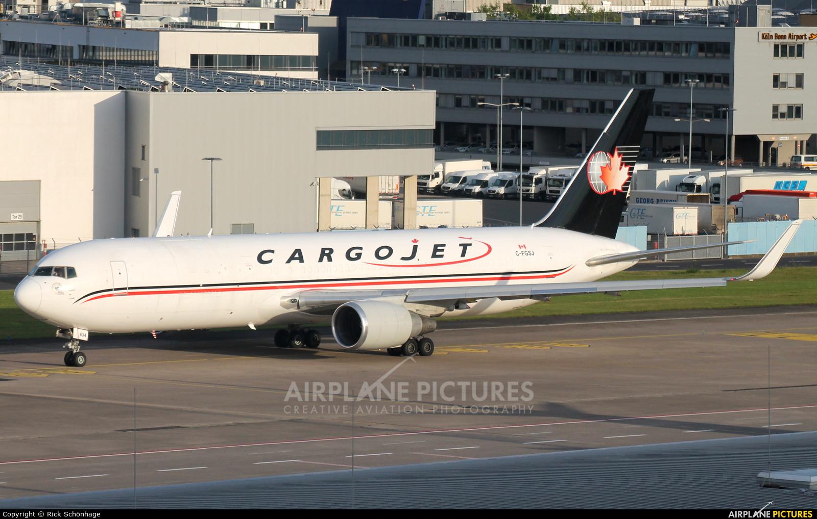 Cargojet Airways C-FGSJ aircraft at Cologne Bonn - Konrad Adenauer