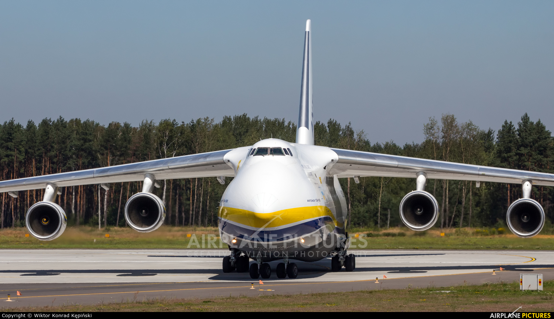 Antonov Airlines /  Design Bureau UR-82029 aircraft at Katowice - Pyrzowice