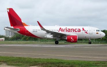 N753AV - Avianca Airbus A319