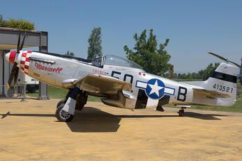 N383FJ - Private North American P-51D Mustang