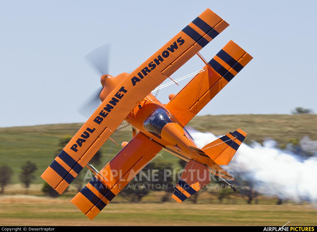 Paul Bennet VH-PVX aircraft at Jamestown