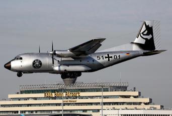 51+01 - Germany - Air Force Transall C-160D
