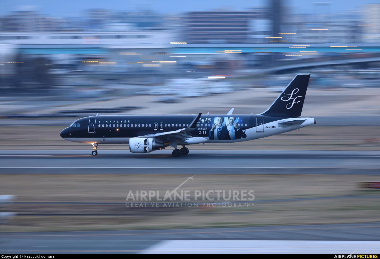 Starflyer JA20MC aircraft at Fukuoka
