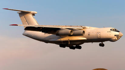 UR-CMB - Alfa Air Services Ilyushin Il-76 (all models)