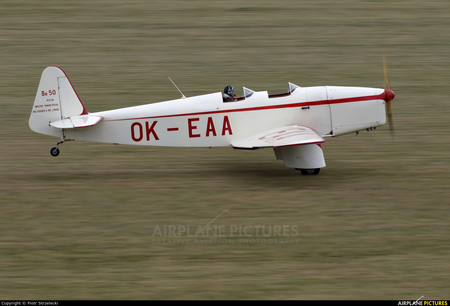 Private OK-EAA aircraft at Mladá Boleslav