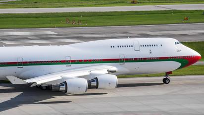 A4O-OMN - Oman - Royal Flight Boeing 747-400