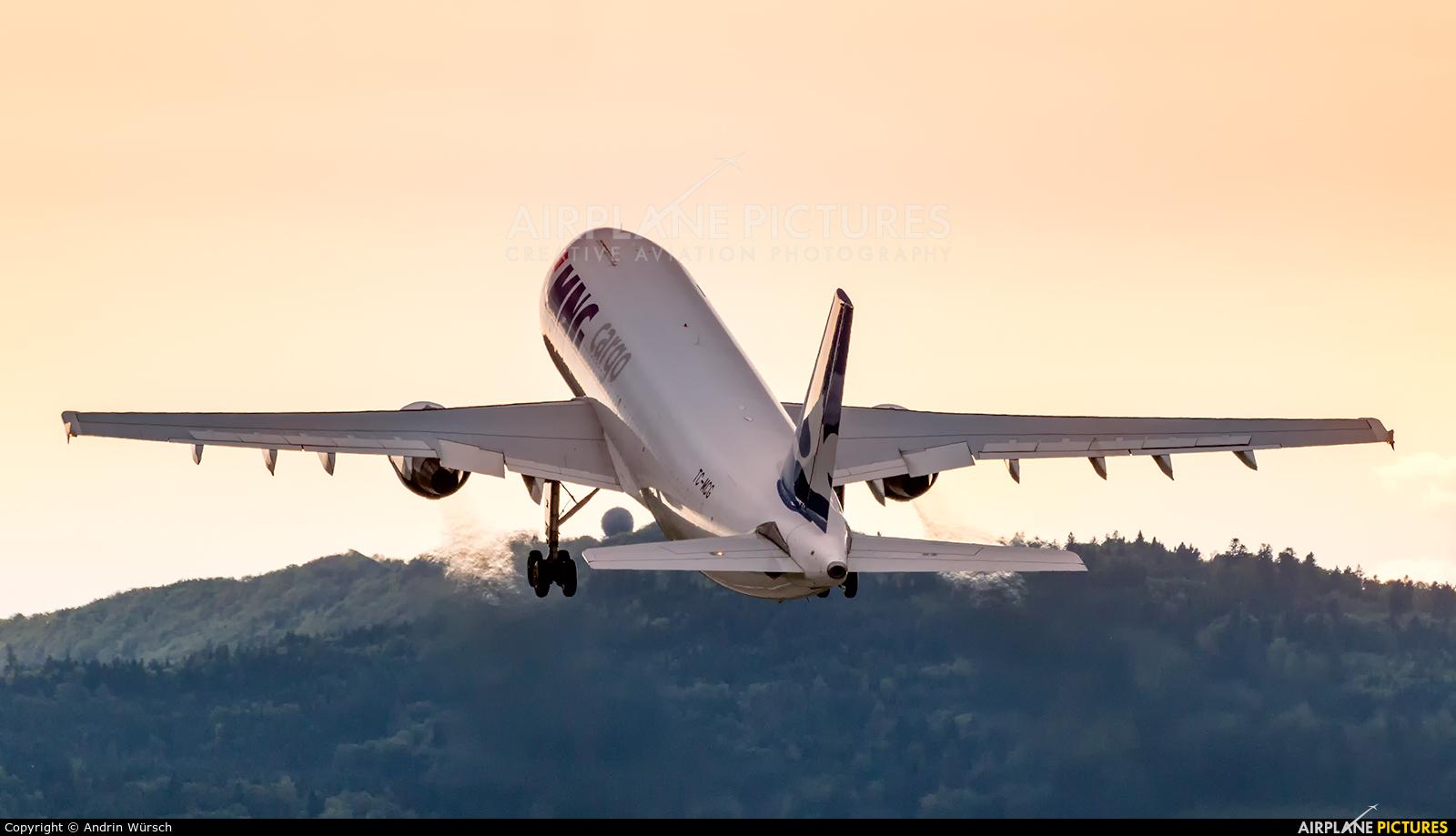 MNG Cargo TC-MCG aircraft at Zurich