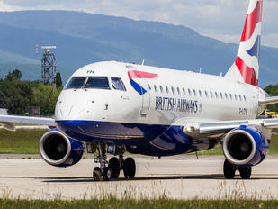 G-LCYH - British Airways - City Flyer Embraer ERJ-170 (170-100)