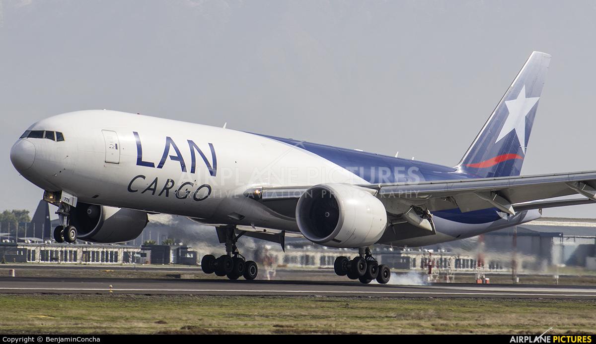 LAN Cargo Colombia N776LA aircraft at Santiago de Chile - Arturo Merino Benítez Intl