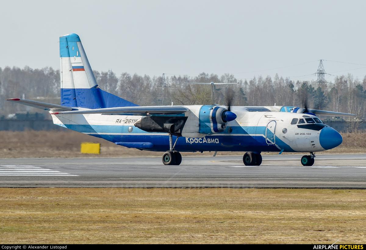KrasAvia RA-26118 aircraft at Novosibirsk