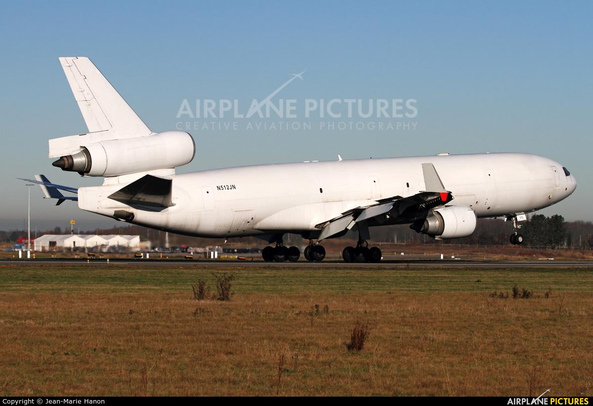 Western Global Airlines N512JN aircraft at Liège-Bierset