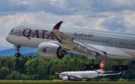 A7-ALB - Qatar Airways Airbus A350-900 aircraft