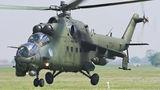Poland - Army Mil Mi-24V 734 at Inowrocław airport
