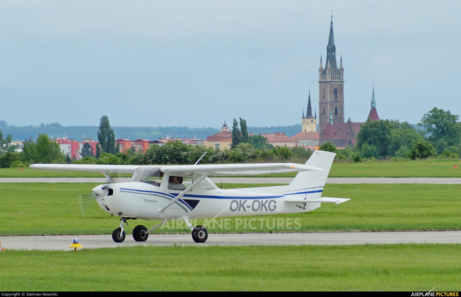 Private OK-OKG aircraft at Čáslav