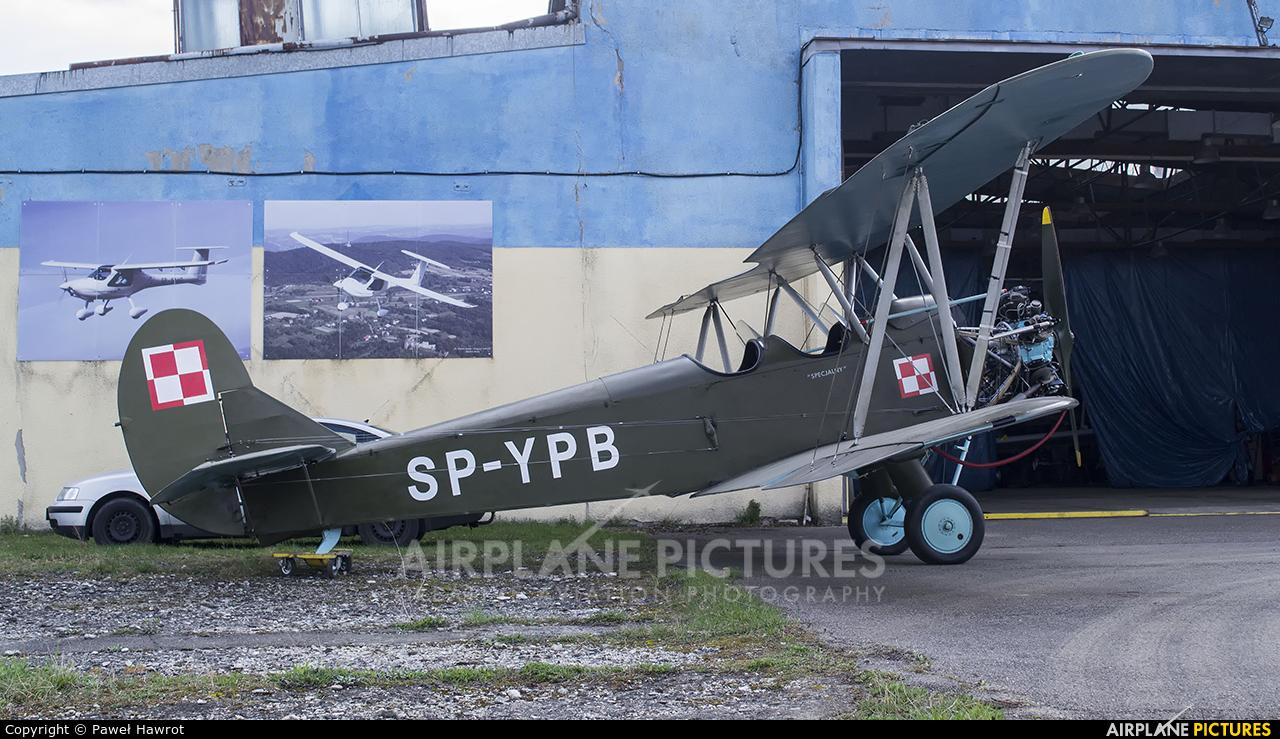 Silvair SP-YPB aircraft at Krosno