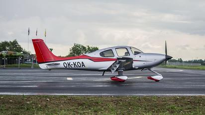 OK-KOA - Private Cirrus SR-22 -GTS