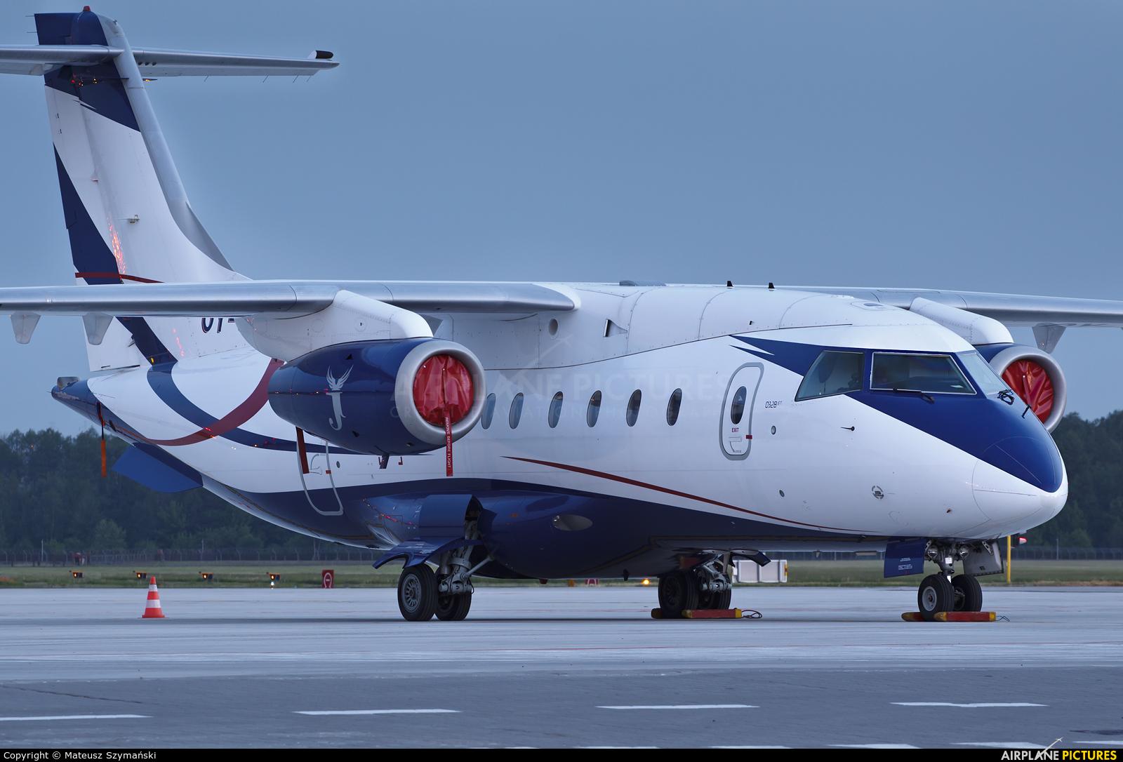Sun Air OY-JJG aircraft at Łódź - Lublinek