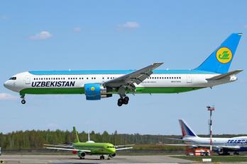 UK67005 - Uzbekistan Airways Boeing 767-300ER