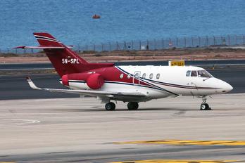 5N-SPL - Private Raytheon Hawker 850XP