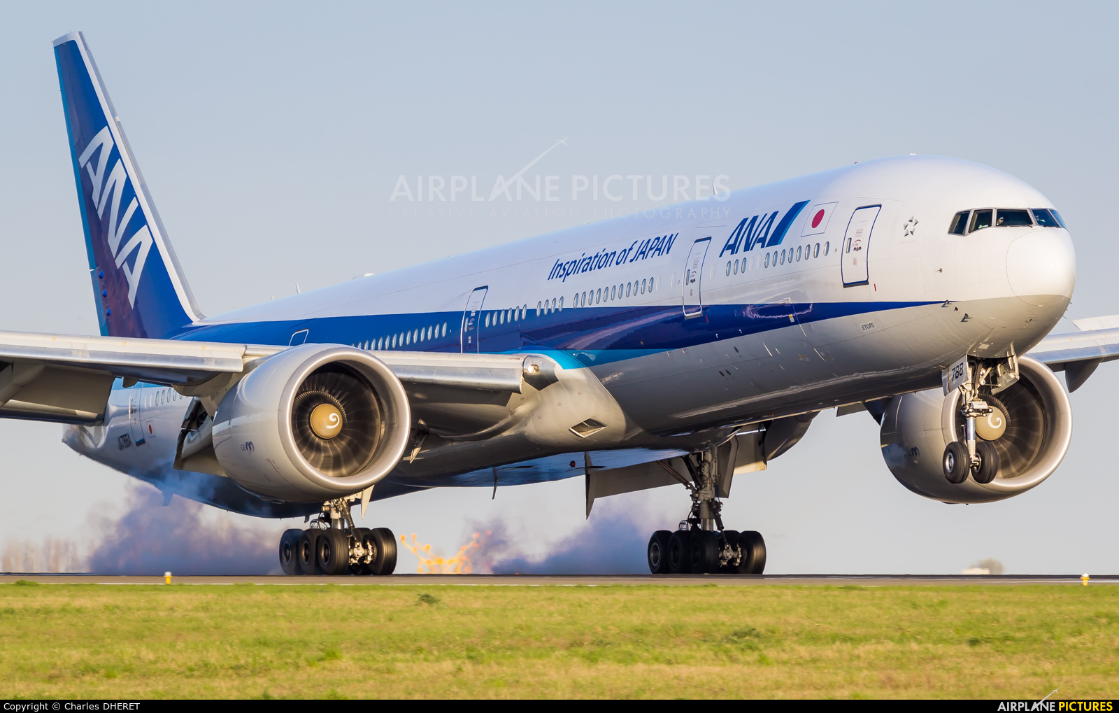 ANA - All Nippon Airways JA788A aircraft at Paris - Charles de Gaulle
