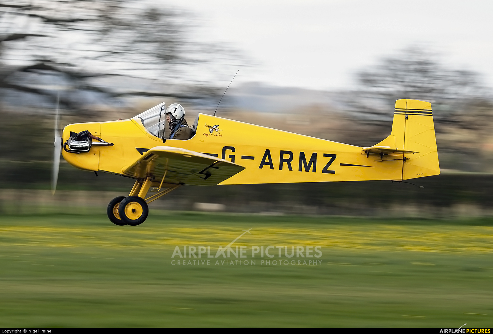 The Tiger Club G-ARMZ aircraft at Lashenden / Headcorn