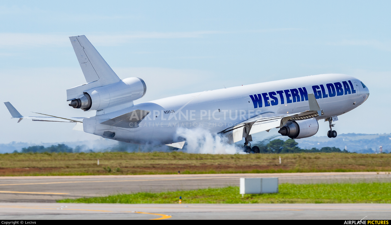 Western Global Airlines N581JN aircraft at Campinas - Viracopos Intl