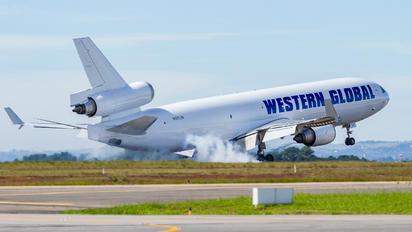 N581JN - Western Global Airlines McDonnell Douglas MD-11F