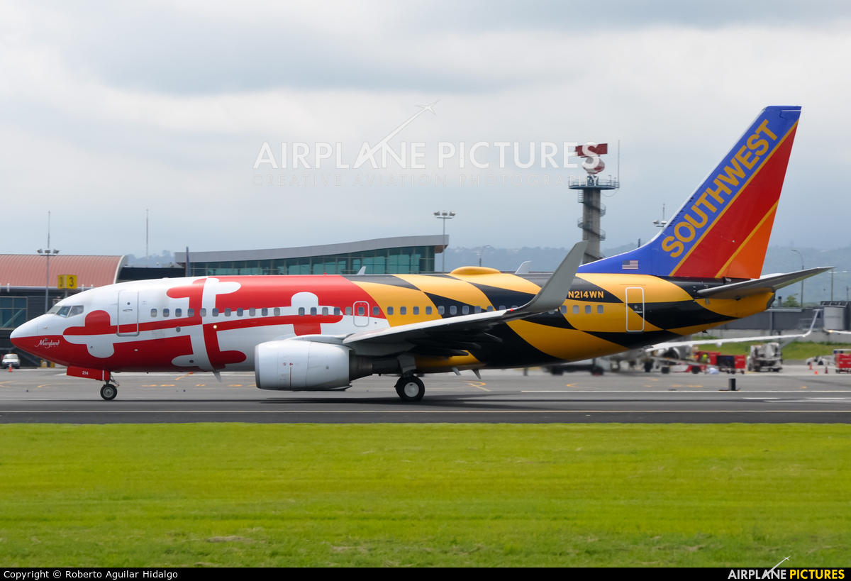 Southwest Airlines N214WN aircraft at San Jose - Juan Santamaría Intl