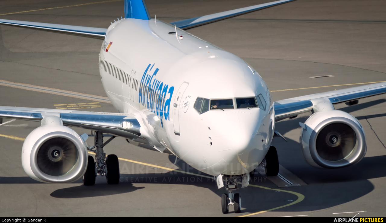 Air Europa EC-MJU aircraft at Amsterdam - Schiphol