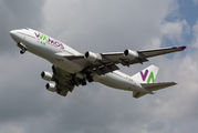 Wamos 747 operates for Neos from Verona title=