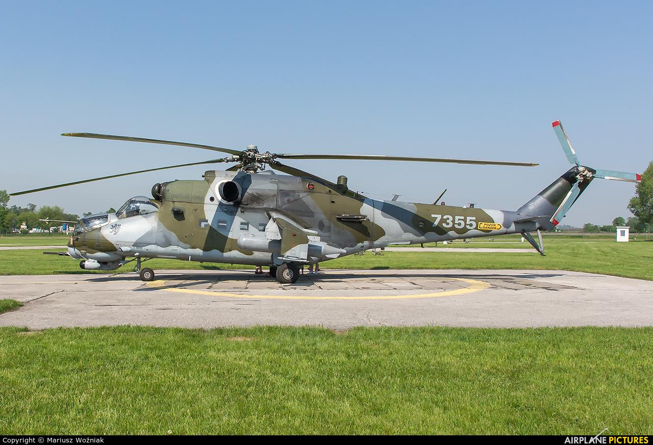 Czech - Air Force 7355 aircraft at Inowrocław - Latkowo