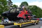 Bell TAH-1F Cobra crash at Reutte