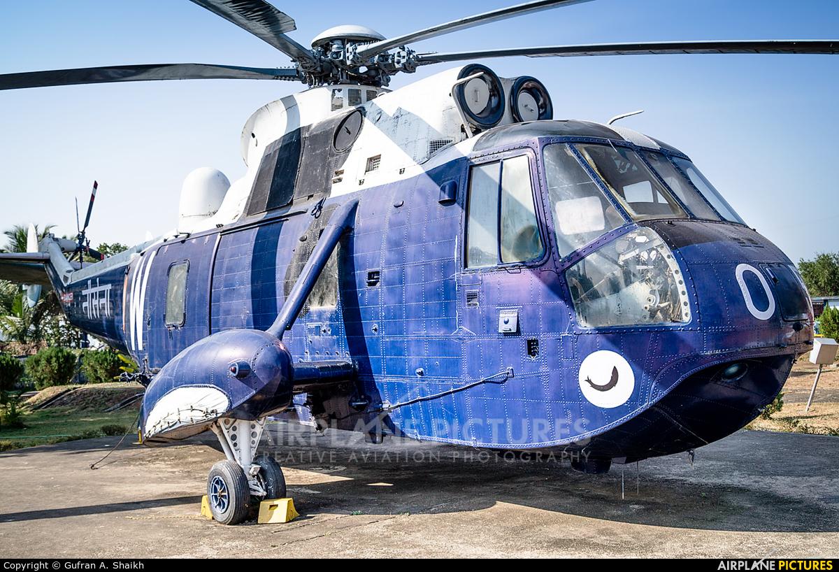 India - Navy IN505 aircraft at Off Airport - India