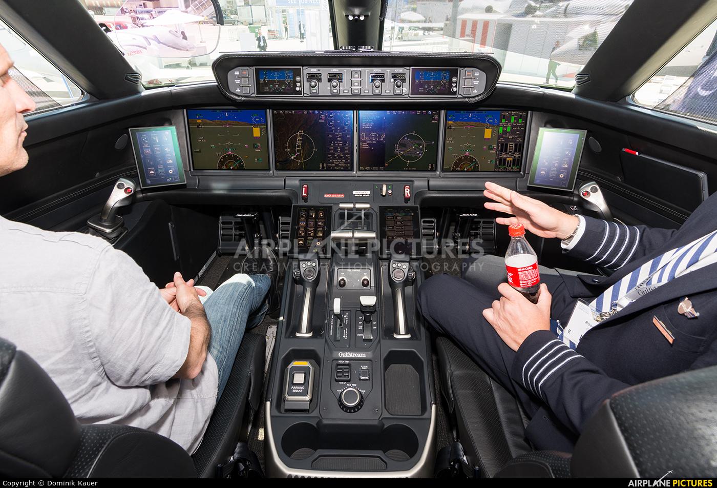 Gulfstream Aerospace Service Corp N505GD aircraft at Geneva Intl