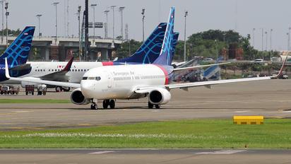 PK-CLS - Sriwajaya Air Boeing 737-800