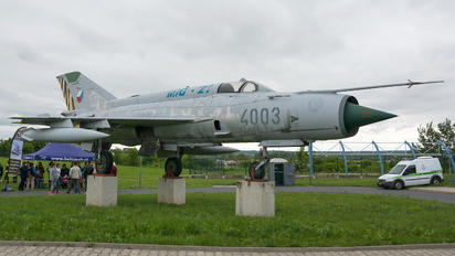 4003 - Czech - Air Force Mikoyan-Gurevich MiG-21MF