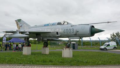 4003 - Czech - Air Force Mikoyan-Gurevich MiG-21MF