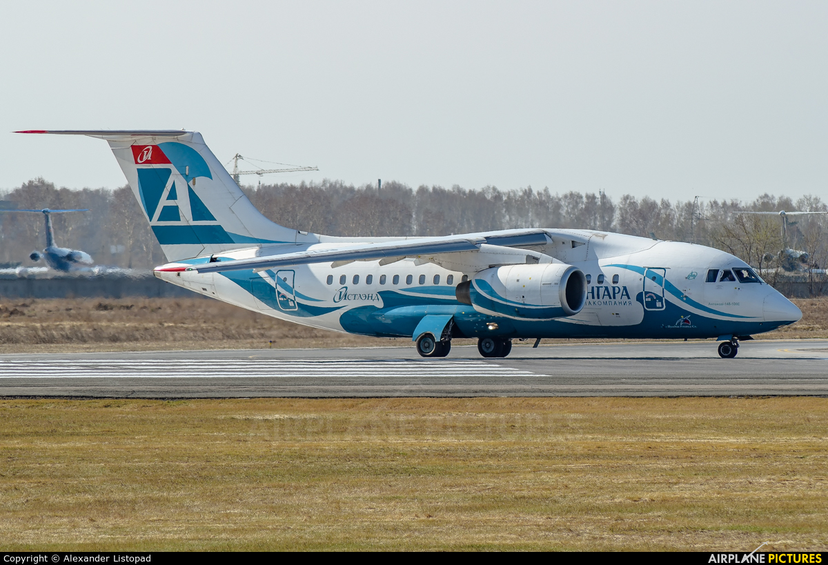 Angara Airlines RA-61713 aircraft at Novosibirsk