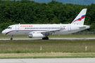 Rare visit of Russian EMERCOM Superjet 100 to Geneva