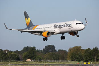 OY-TCE - Thomas Cook Scandinavia Airbus A321