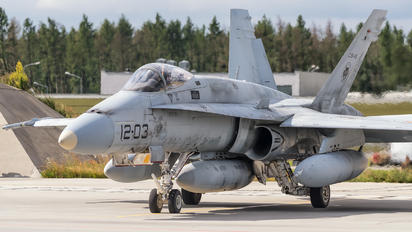 C.15-45 - Spain - Air Force McDonnell Douglas EF-18A Hornet