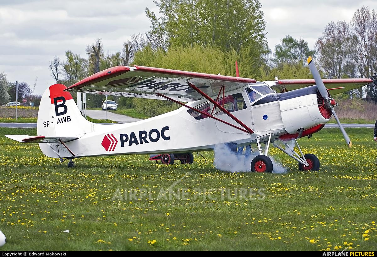 Aeroklub Kujawski SP-AWB aircraft at Inowrocław